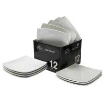 10-Strawberry-Street-6SQ-CP--12-ACE-TSS--6--Square-Bread-and-Butter-Coupe-Plates---2-sets---case