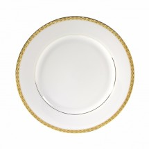 "10 Strawberry Street ATH-1G 10-3/4"" Athens Gold Dinner Plate"