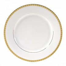 "10 Strawberry Street ATH-24G 12"" Athens Gold Charger Plate - 12 pcs"