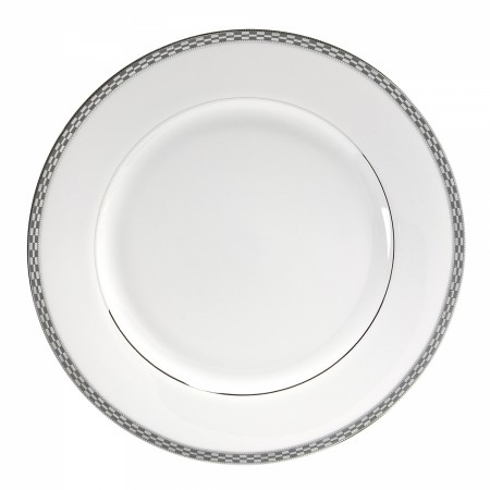 10 Strawberry Street ATH-24P Athens Platinum Charger Plate  12""