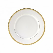 "10 Strawberry Street ATH-2G 9"" Athens Gold Luncheon Plate"