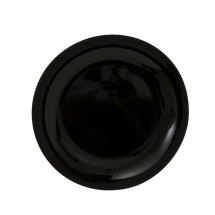 "10 Strawberry Street BCP0001 10-1/4"" Black Coupe Dinner Plate"