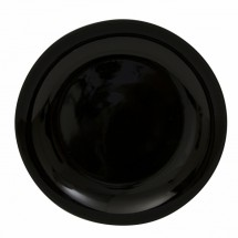 "10 Strawberry Street BCP0024 12"" Black Coupe Charger Plate"