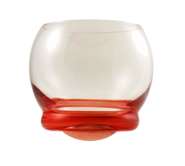 10 Strawberry Street BELL-RED 13-1/5 oz. Wobble Glass Red - 48 pcs