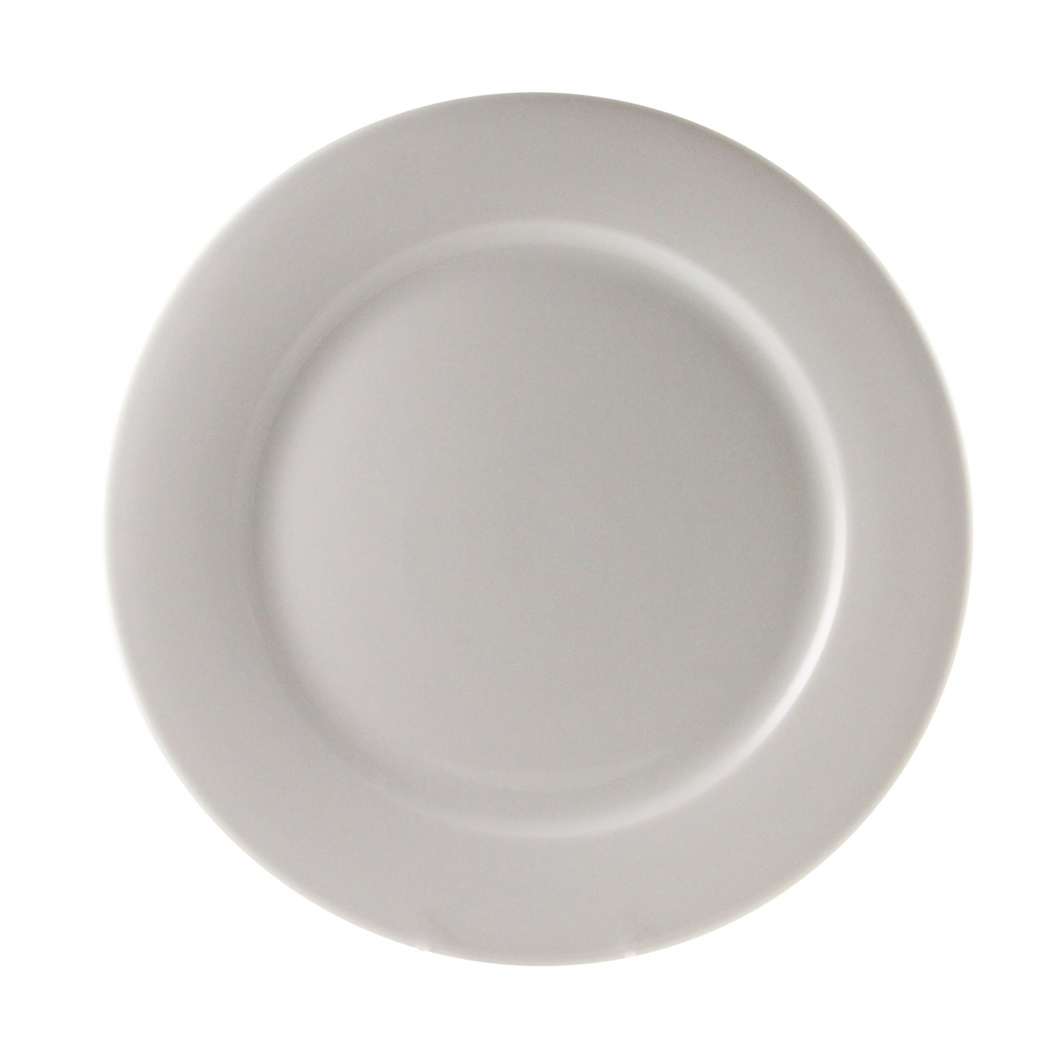 "10 Strawberry Street BISTRO-2 9"" White Luncheon Plate"