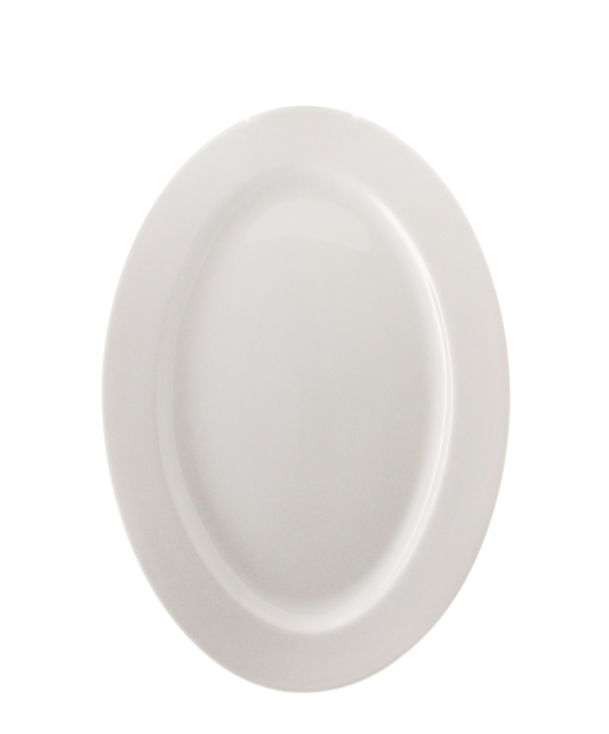 "10 Strawberry Street BISTRO-21 12"" White Oval Platter"