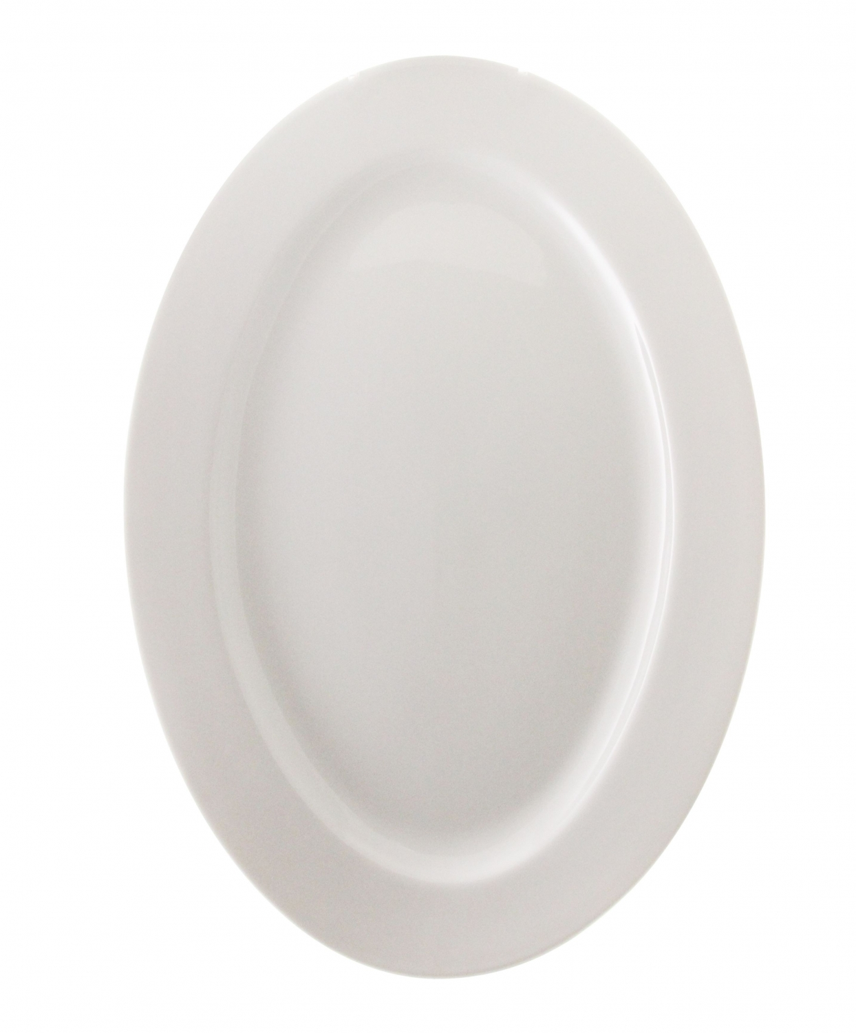"10 Strawberry Street BISTRO-22 14"" White Oval Platter"