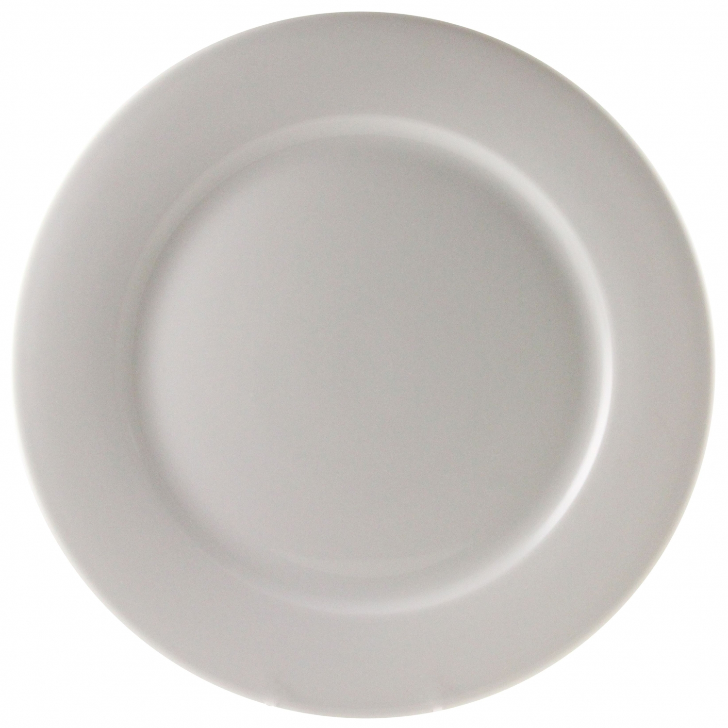 "10 Strawberry Street BISTRO-24 12"" White Charger Plate"
