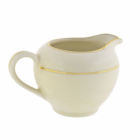10 Strawberry Street CGLD0016 8 oz. Cream Double Gold Line Creamer