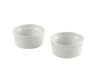 10 Strawberry Street DEL-RAMK White Ramekin, Set of 2 - 12 pcs