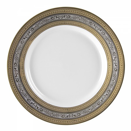 10 Strawberry Street ELE-24  Elegance Charger Plate 12""