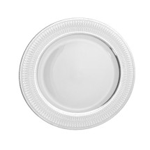 "10 Strawberry Street IRIANA-1(SLV)10-1/4"" Iriana Platinum Dinner Plate"