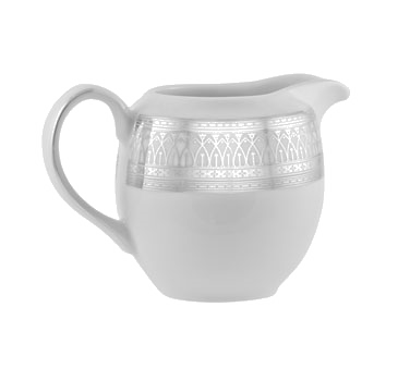 10 Strawberry Street IRIANA-16(SLV) 9 oz. Iriana Platinum Creamer