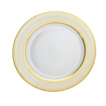 "10 Strawberry Street IRIANA-24(GLD) 12"" Iriana Gold Charger Plate"