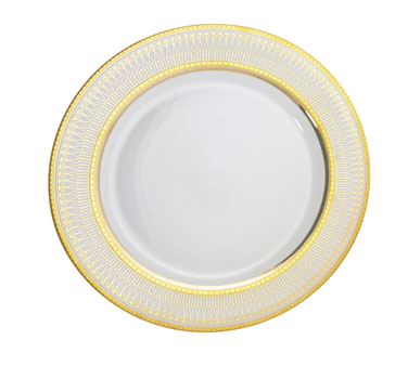 "10 Strawberry Street IRIANA-5GLD 6"" Iriana Gold Bread and Butter Plate"