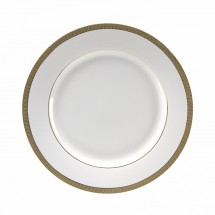 "10 Strawberry Street LUX-1G 10-3/4"" Luxor Gold Dinner Plate"