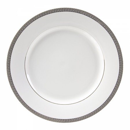 """10 Strawberry Street LUX-24P  Luxor Platinum Charger Plate 11-7/8"""""""