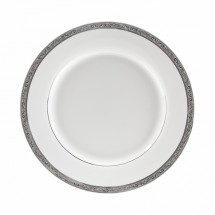10 Strawberry Street PAR-24P Paradise Platinum Charger Plate 12""