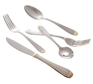10 Strawberry Street PAR-DF Parisian Gold Dinner Fork - 12 pcs
