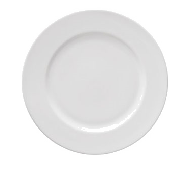 """10 Strawberry Street RB0005 6-3/4"""" Classic White Bread and Butter Plate"""
