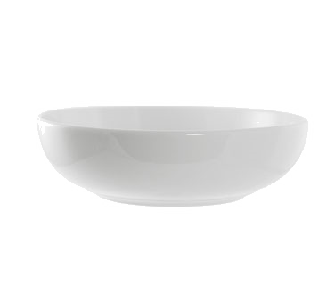 10 Strawberry Street RB0013 24 oz. Classic White Pasta Bowl