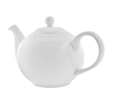 10 Strawberry Street RB0014 36 oz. Classic White Tea Pot