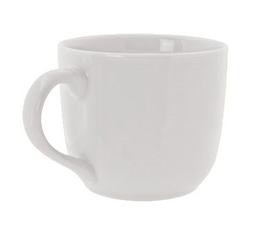 10 Strawberry Street RB0029 10 oz. Classic White Latte Mug