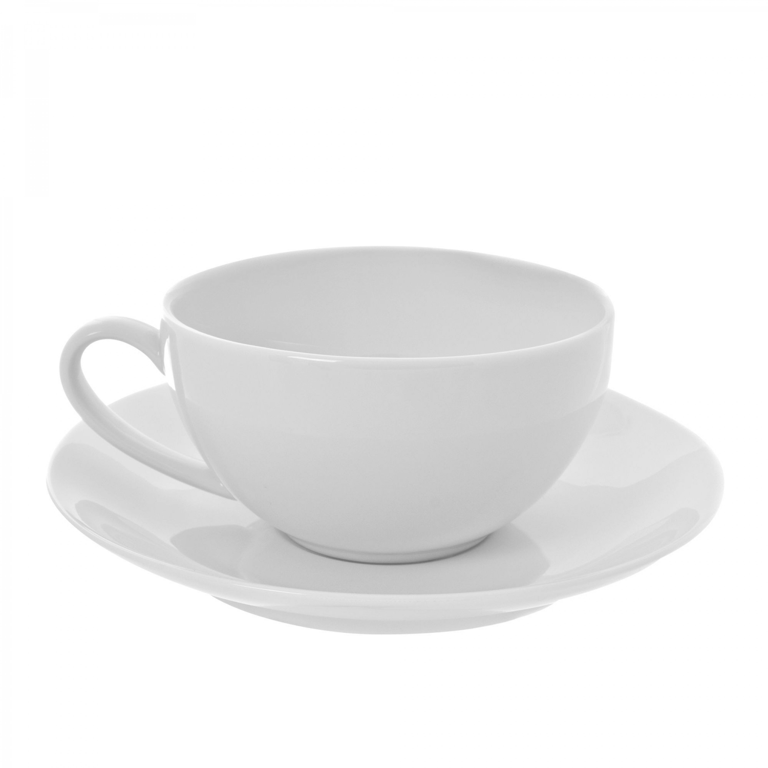 10 Strawberry Street RCP0009 Royal Coupe Cup and Saucer Set 10 oz.