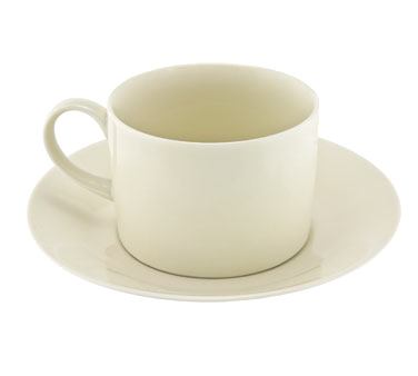 10 Strawberry Street RCR0009 Royal Cream Can Cup and Saucer 8 oz.