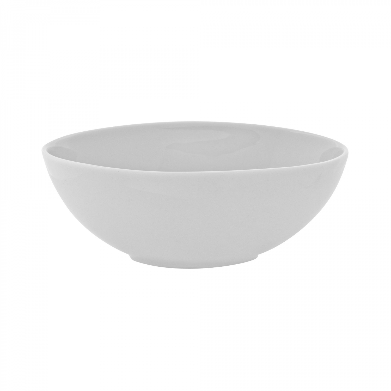 10 Strawberry Street RVL0007 Royal Oval White Cereal Bowl 17 oz.