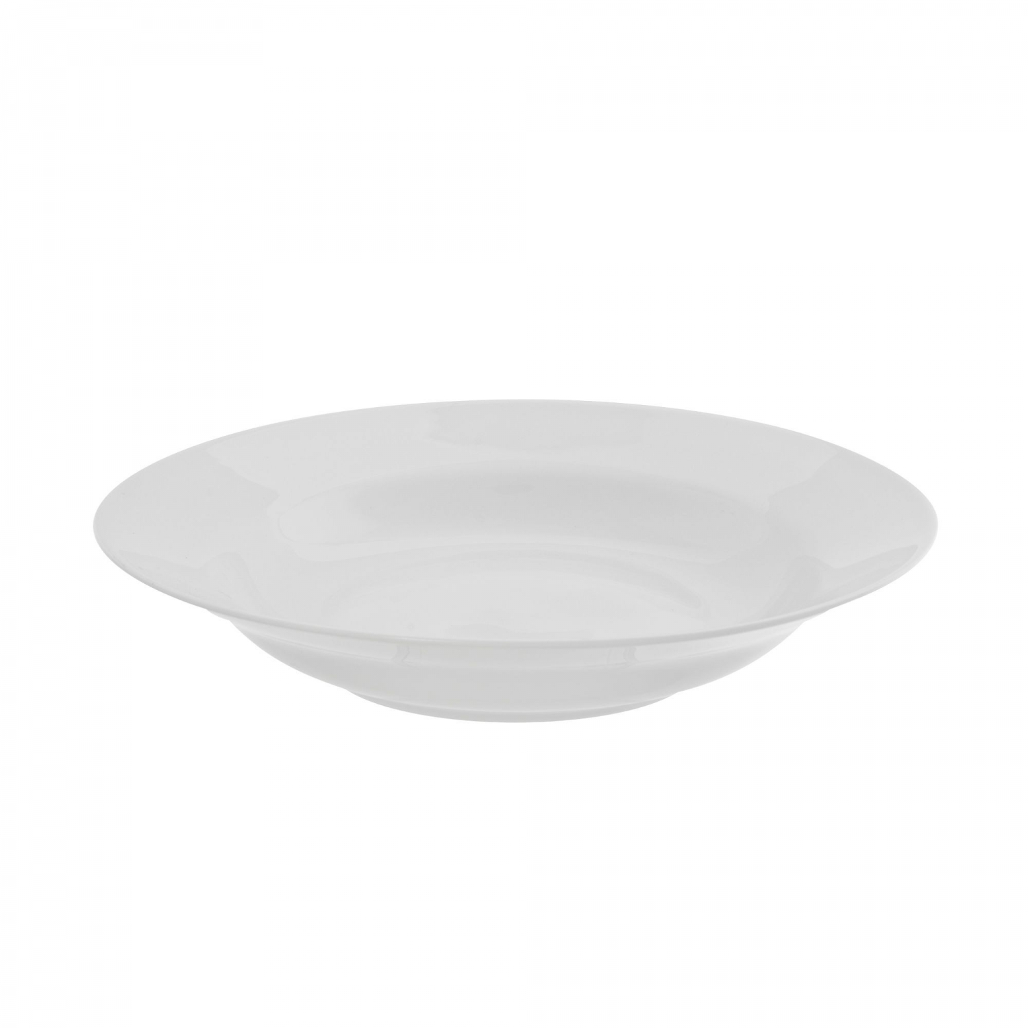 10 Strawberry Street RW0003 Royal White Rim Soup Bowl 8 oz.