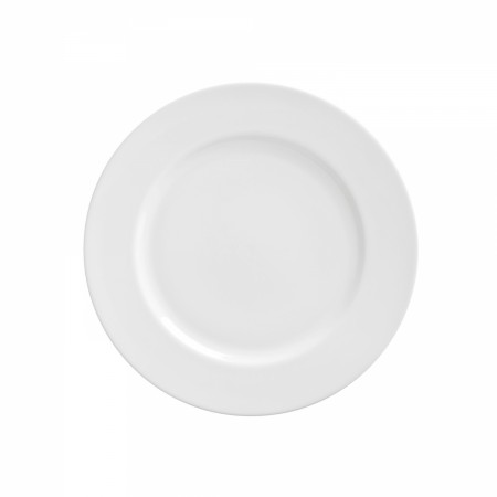 10 Strawberry Street RW0004 Royal White Salad/Dessert Plate 8""