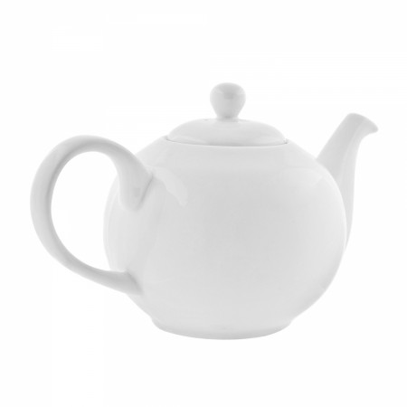 10 Strawberry Street RW0014 Royal White Tea Pot 9-3/4""