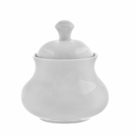 10 Strawberry Street RW0018 Royal White Sugar Bowl with Lid 11 oz.