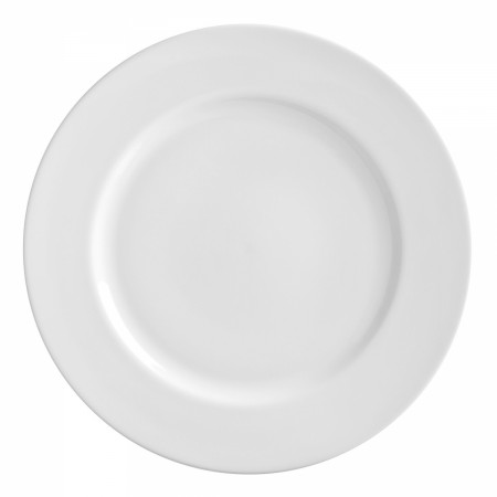 10 Strawberry Street RW0024 Royal White Charger Plate 11-7/8""