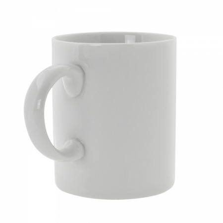 10 Strawberry Street RW0028 Royal White Coffee Mug with C-Handle 3""