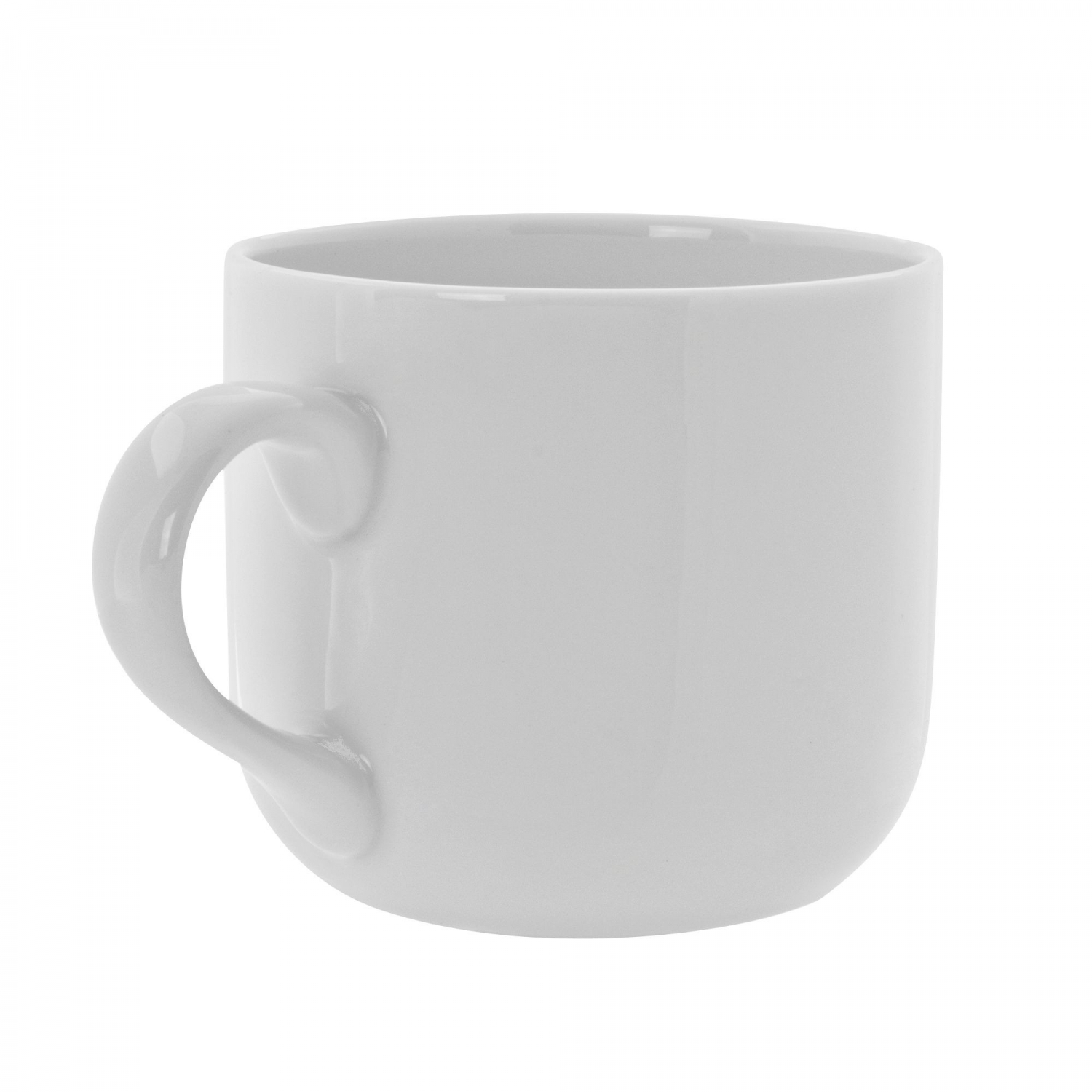 10 Strawberry Street RW0029 Royal White Latte Mug 3-3/4""