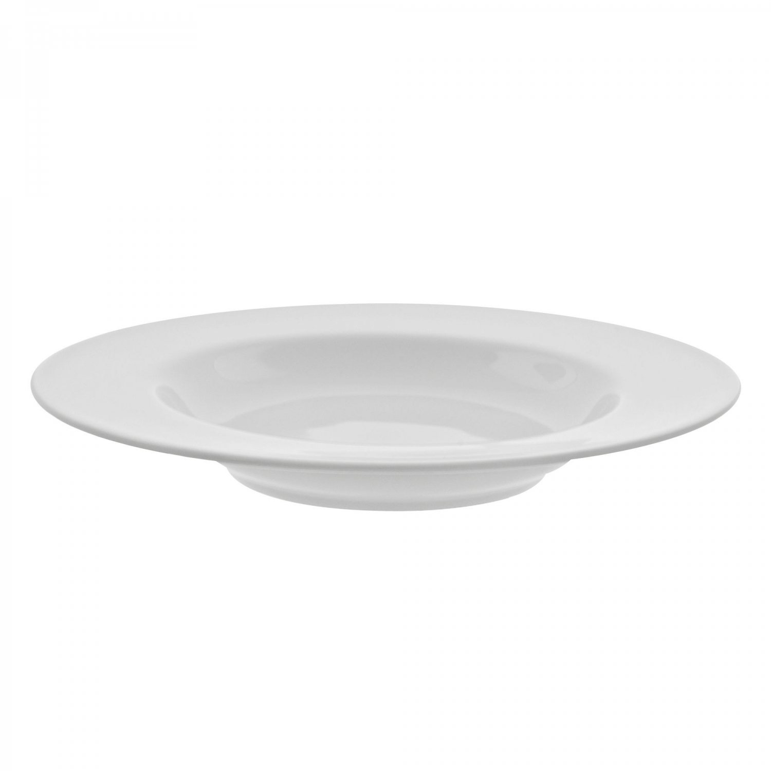 10 Strawberry Street RW0041 Royal White Rim Soup Bowl 14 oz.