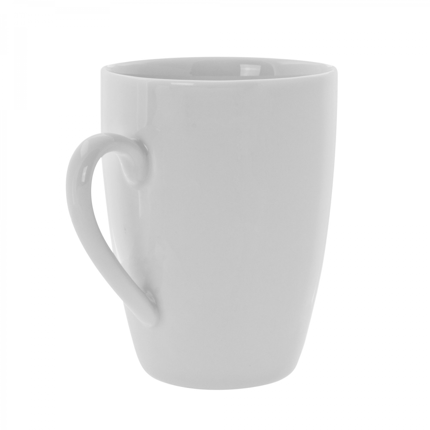 10 Strawberry Street RW0100 Royal White Barrel Mug 3-1/4""