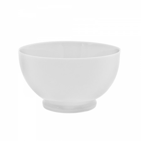 10 Strawberry Street RW0255 Royal White Footed Rice Bowl 20 oz.