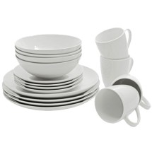 10 Strawberry Street SM-1600CP 16-Piece Dinnerware Condo Set - 2 sets / case