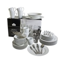 10 Strawberry Street SM-80RD 80-Piece Dinnerware Combo Set - 1 case