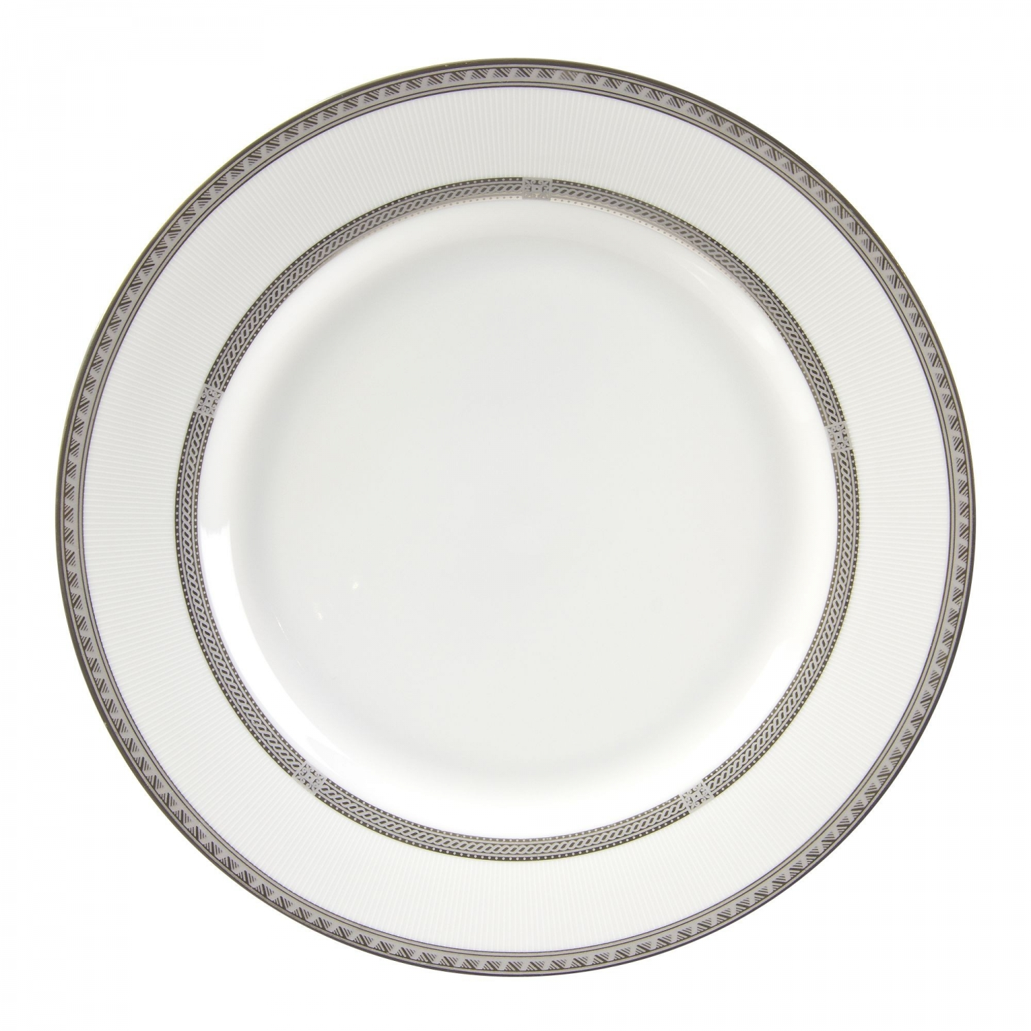 """10 Strawberry Street SOP-24 Sophia Charger Plate 11-7/8"""""""