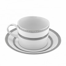 10 Strawberry Street SOP-9 Sophia Can Cup and Saucer Set 8 oz.