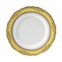 10 Strawberry Street VAN-1G Vanessa Gold Dinner Plate 10-3/4""