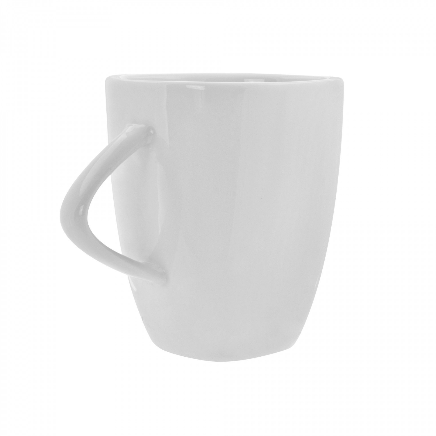 10 Strawberry Street WT-29TRI White Triangle Coffee Mug 11 oz.