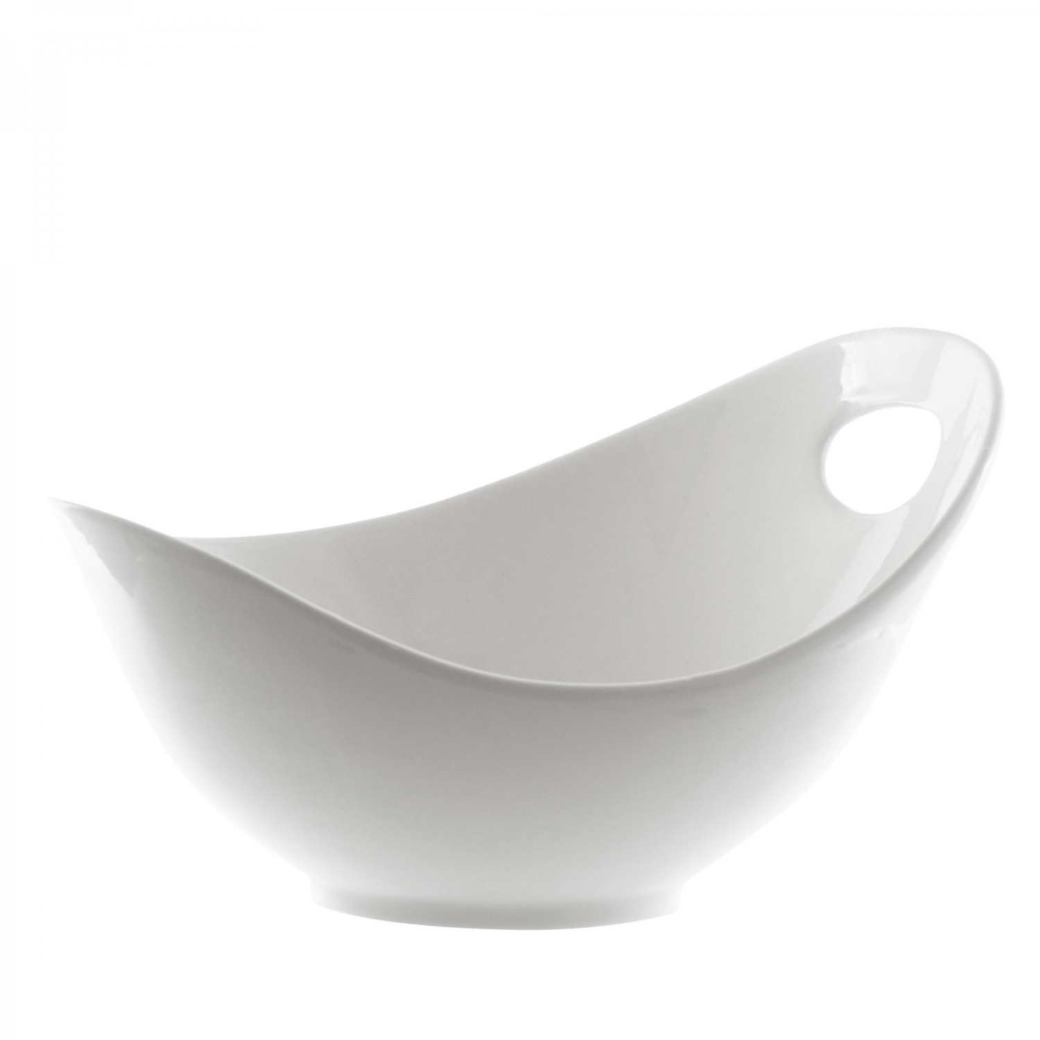 10 Strawberry Street WTR-10FBWL Whittier Fruit Bowl with Cut Out 34 oz.