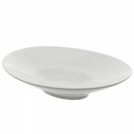 10 Strawberry Street WTR-12OVLBWL Whittier Shallow Oval Bowl 8 oz.
