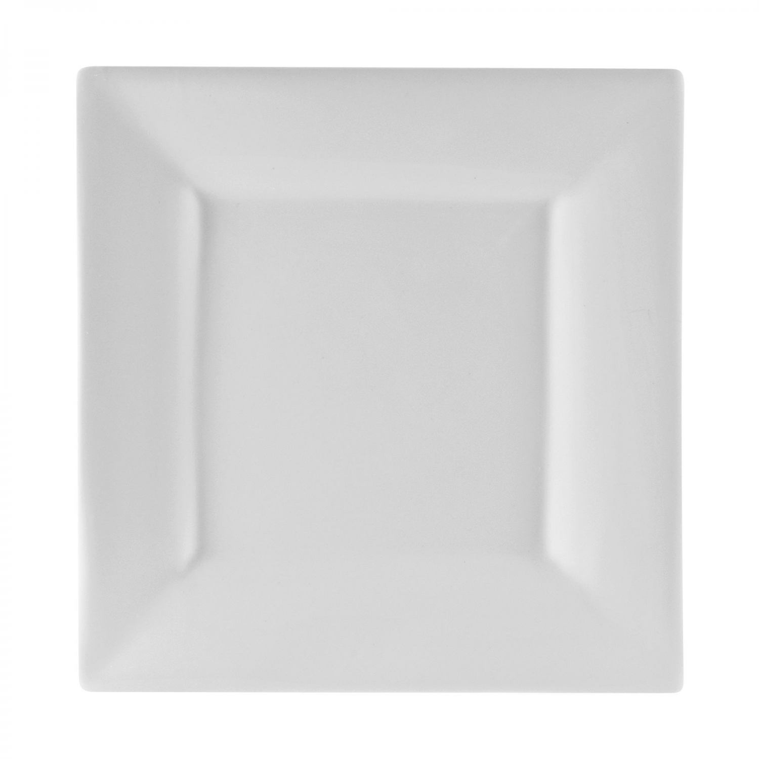 10 Strawberry Street WTR-12SQ Whittier Square White Charger Plate 11-5/8""