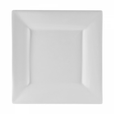 """10 Strawberry Street WTR-12SQ Whittier Square White Charger Plate 11-5/8"""""""